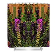 Fantasy Garden Two Shower Curtain