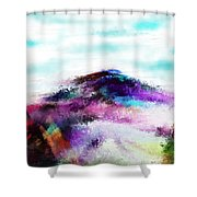 Fantasy Mountain Shower Curtain
