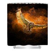 Fantasy Owl Shower Curtain