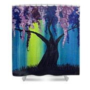 Fantasy Tree Shower Curtain
