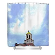 Fanuel Sky Shower Curtain