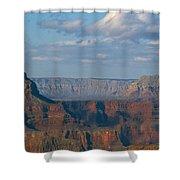 Far Off Canyon Shower Curtain