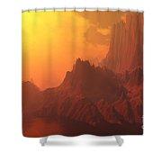 Faraday Shower Curtain