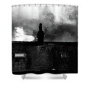 Farafield Shower Curtain