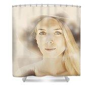 Faraway Fashion Female Shower Curtain