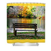 Farewell Autumn Shower Curtain