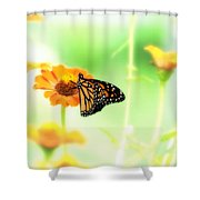 Farewell Shower Curtain