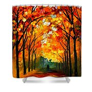 Farewell To Autumn Shower Curtain