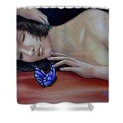 Farfalla - Butterfly Shower Curtain