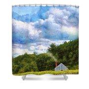 Farm - Barn - Home On The Range II  Shower Curtain