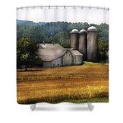 Farm - Barn - Home On The Range Shower Curtain