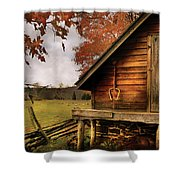 Farm - Barn - Shed Out Back Shower Curtain