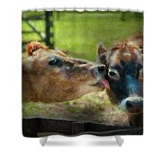 Farm - Cow - Let Mommy Clean That Shower Curtain