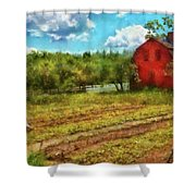 Farm - Farmer - Farm Work  Shower Curtain