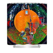Farm And Logging Machinery Shower Curtain