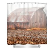 Farm Barn Shower Curtain