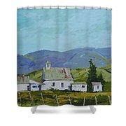 Farm Buildings Shower Curtain