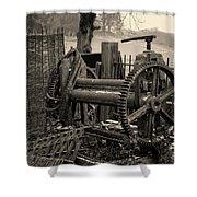 Farm Equipment Art Shower Curtain