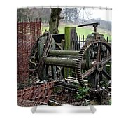Farm Equipment  Shower Curtain