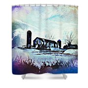 Farm Fantasy Shower Curtain