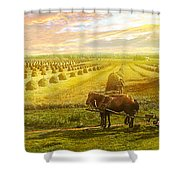 Farm - Finland - Field Of Hope 1899 Shower Curtain