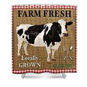Farm Fresh-jp2381 Shower Curtain