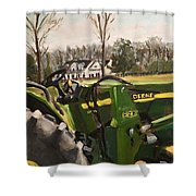 Farm In Chapel Hill Shower Curtain