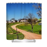 Farm In Gasconade County Mo_dsc4116 Shower Curtain