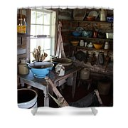 Farm Kitchen Shower Curtain