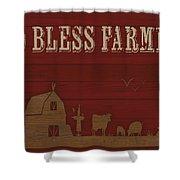 Farm Life-jp3220 Shower Curtain