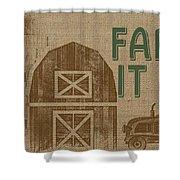 Farm Life-jp3235 Shower Curtain