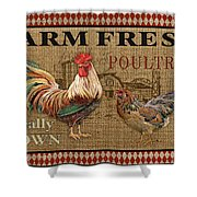 Farm Life-jp3238 Shower Curtain