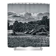 Farm On The Blue Ridge Shower Curtain