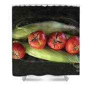 Farm Produce Shower Curtain