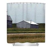 Farm Scene Shower Curtain