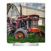 Farm Scene - Painting Shower Curtain