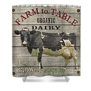 Farm To Table Dairy-jp2629 Shower Curtain
