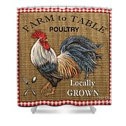 Farm To Table-jp2390 Shower Curtain