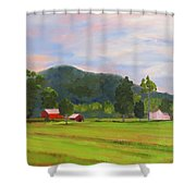 Farm, Washington County Shower Curtain