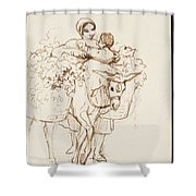 Farmer Girl Shower Curtain