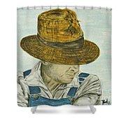 Farmer Ted Shower Curtain