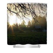 Farmer's Dream Shower Curtain