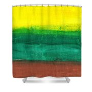Farmers Peace Shower Curtain