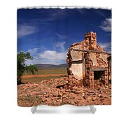 Farmhouse Cottage Ruin Flinders Ranges South Australia Shower Curtain