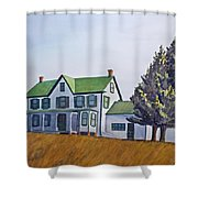 Farmhouse Shower Curtain