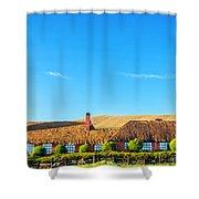Farmhouse In Ecuador Shower Curtain