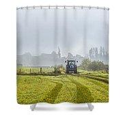 Farming In Clackmannan Shower Curtain