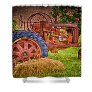 Farming In Hanksville Utah Shower Curtain