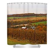 Farming In The Valley Shower Curtain