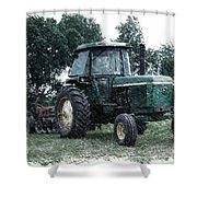 Farming John Deere 4430 Pa 01 Shower Curtain